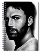 Ben Affleck Spiral Notebook