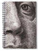 Ben Franklin Spiral Notebook