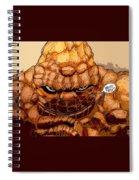 Ben Grimm  Spiral Notebook