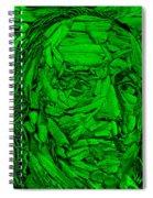 Ben In Wood Green Spiral Notebook