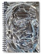Ben In Wood Negative Art Spiral Notebook
