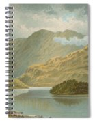 Ben Venue And Ellen's Isle   Loch Katrine Spiral Notebook