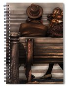Bench - A Couple Out Of Time Spiral Notebook