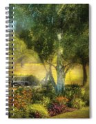 Bench - I Had This Dream And It All Began Spiral Notebook