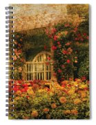 Bench - The Rose Garden Spiral Notebook