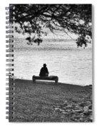 Bench Fishing Spiral Notebook