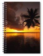 Bending Palm Spiral Notebook