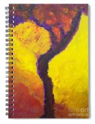 Bendy Tree Spiral Notebook