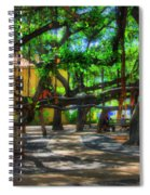 Beneath The Banyan Tree Spiral Notebook