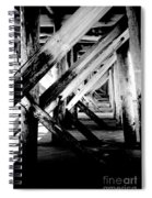 Beneath The Docks Night Spiral Notebook