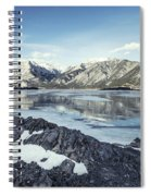 Beneath The Frozen Sky Spiral Notebook