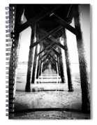 Beneath The Pier Spiral Notebook