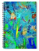 Beneath The Surface Spiral Notebook