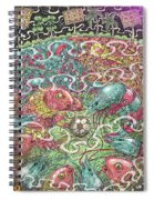 Bengal, Divided Spiral Notebook