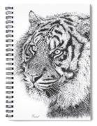 Bengal Tiger Spiral Notebook