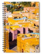 Beni Isguen Houses From The Watch Tower Spiral Notebook