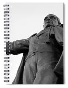 Benito Juarez Statue Spiral Notebook