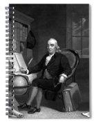 Benjamin Franklin -- The Scientist Spiral Notebook