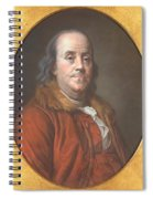Benjamin Franklin Spiral Notebook