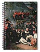 Benjamin West Spiral Notebook