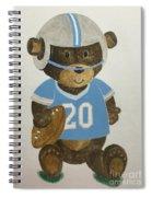Benny Bear Football Spiral Notebook