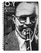 Benny Goodman Spiral Notebook