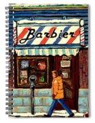 Bens Barbershop Spiral Notebook
