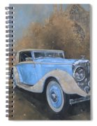 Bentley By Kellner Spiral Notebook