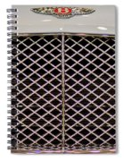 Bentley Grille And Insignia Spiral Notebook