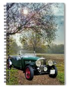 Bentley On A Country Road Spiral Notebook