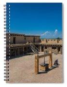 Bent's Fort Courtyard Spiral Notebook