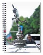 Benz 1916 Ds2 - Hood Ornament Spiral Notebook