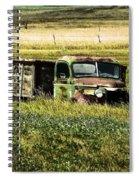 Bereft In A Field Spiral Notebook