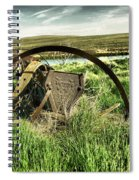Bereft On The Grasslands T Spiral Notebook