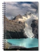 Berg Lake, Mount Robson Provincial Park Spiral Notebook