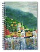 Bergen Harbor Spiral Notebook