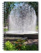 Berger Fountain2 Spiral Notebook