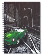 Berkley Sports Car Spiral Notebook