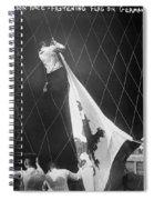 Berlin: Balloon Race, 1908 Spiral Notebook