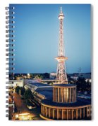 Berlin - Funkturm Spiral Notebook