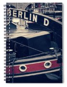 Berlin - Historischer Hafen Spiral Notebook