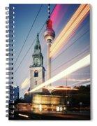 Berlin - Karl-liebknecht-strasse Spiral Notebook