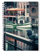 Berlin - Maerkisches Ufer Spiral Notebook
