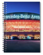 Berlin - Mercedes-benz Arena Spiral Notebook