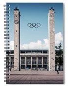 Berlin - Olympic Stadium Spiral Notebook