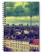 Berlin Roofscape Spiral Notebook