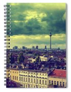 Berlin Skyline And Roofscape Spiral Notebook