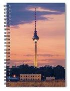 Berlin - Tempelhofer Feld Spiral Notebook