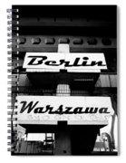 Berlin To Warsaw Frame 1  Spiral Notebook