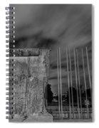 Berlin Wall  Spiral Notebook